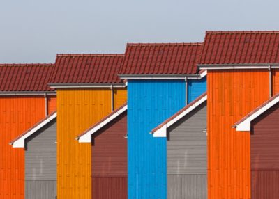Detail of Colorful Houses