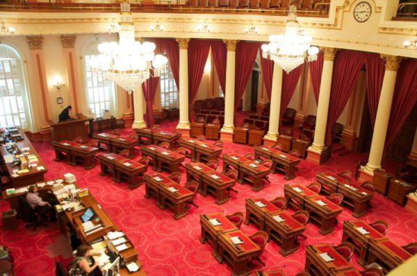 California State Senate floor