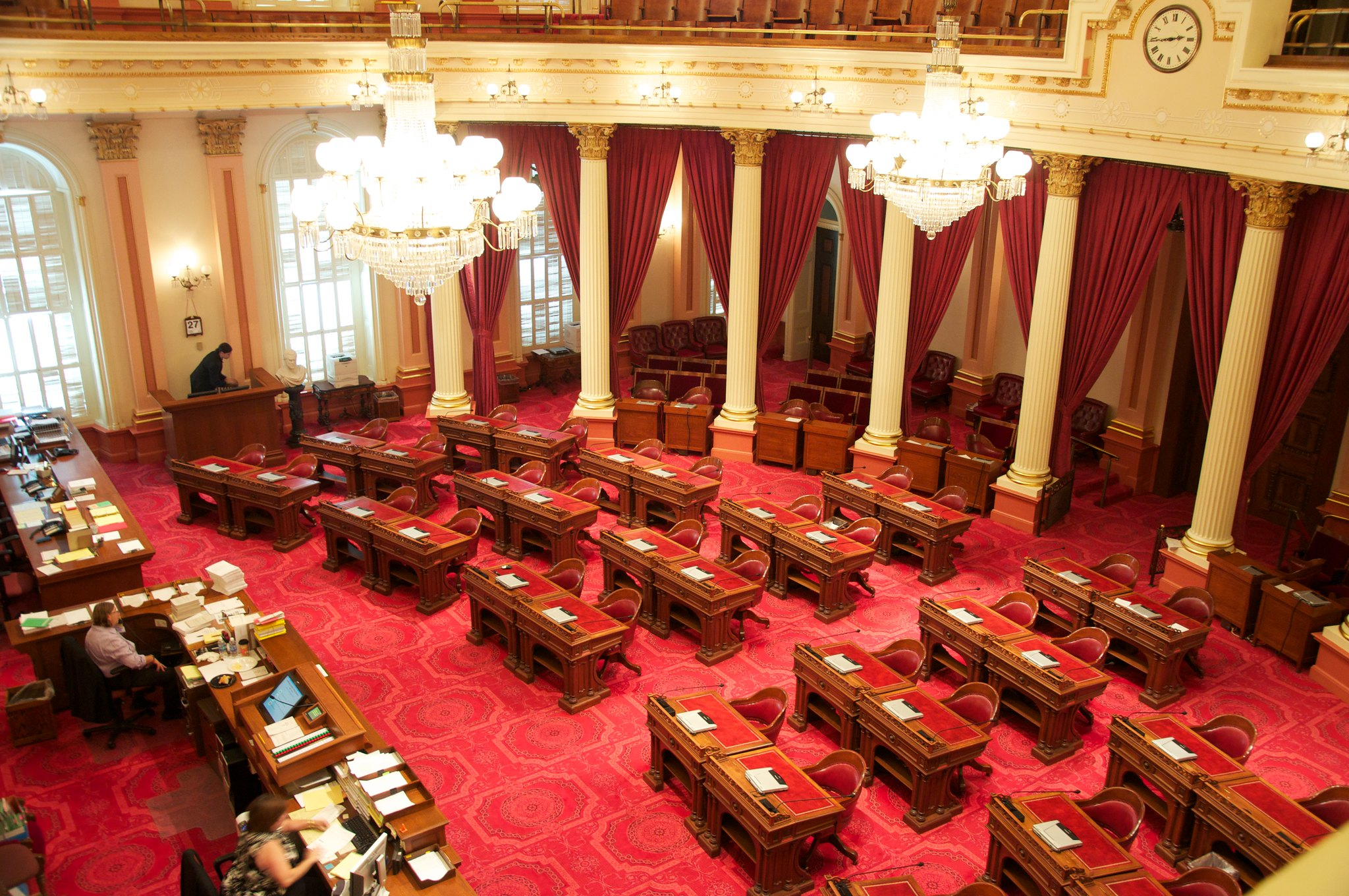 California State Senate floor