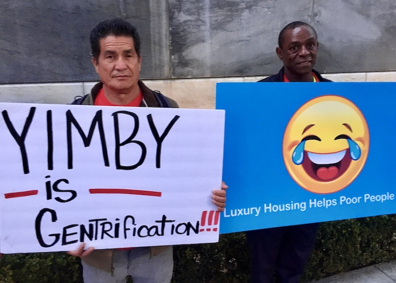 YIMBYs want gentrification and luxury housing