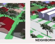 Your neighborhood now and if SB 9 becomes law.